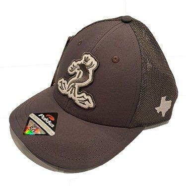Charcoal Mesh Snapback hat