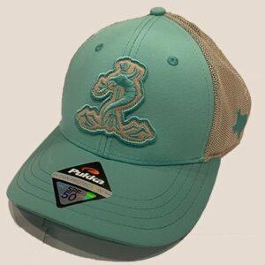 Seafoam Mesh Snapback hat
