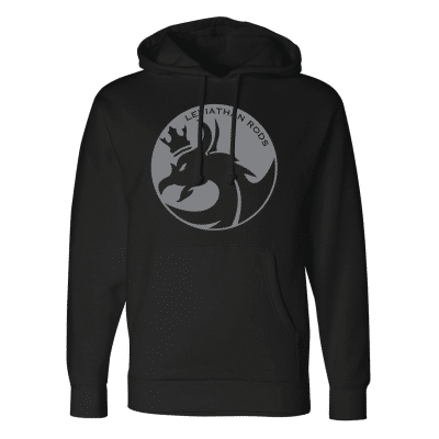 Black Hooded Sweatshirts   Leviathan Rods