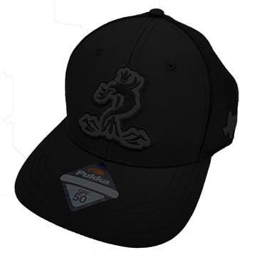 Black SPF 50 Snapback Cap
