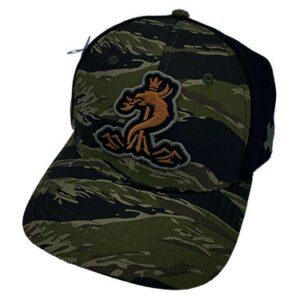 Tiger Camo Snapback Cap
